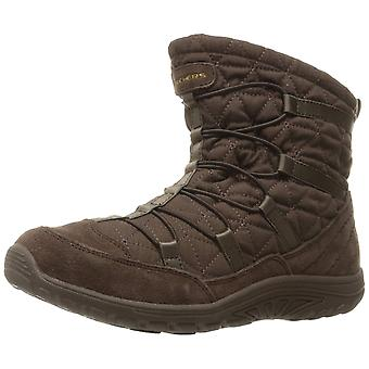 Skechers Womens Steady Closed Toe Ankle Cold Weather Boots