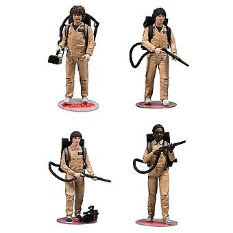Stranger Things Ghostbusters Deluxe Action Figure 4 Pk