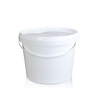 10X Empty White Plastic Bucket Food Grade Safe Storage Pail