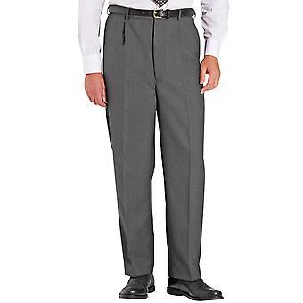 Chums Miesten korkea vyötärövilla sekoitus housut housut venyttää vyötärönauha