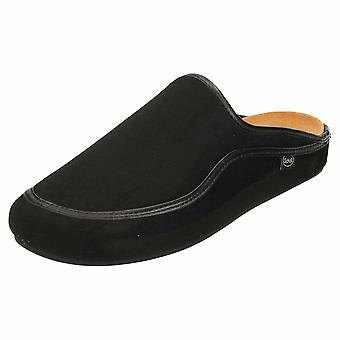 Scholl Black Bioprint Brandy Supportive Slipper Mule