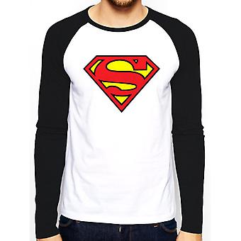 Superman-Logo Baseball T-Shirt
