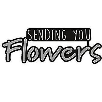 Marianne Design senden Sie Blumen Craftables sterben, grau