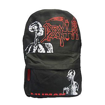 Death Backpack Bag Human Band Logo new Official Black