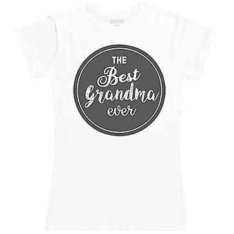 THE Best Ever Grandma - Womens T- Shirt