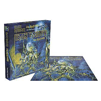 Iron Maiden Jigsaw Puzzle Live After Death Album Cover neues offizielles 500 Stück