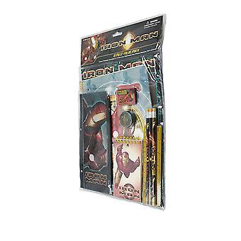 Stationery Set - Marvel - Iron Man 11 pcs Value Pack School Supply