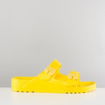 Scholl Bahia dames gesp sandalen geel