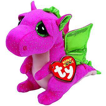 TY Beanie Boo Plush - Darla the Dragon 15cm