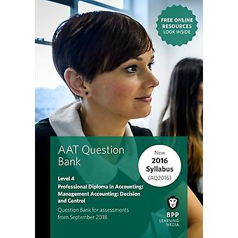 AAT Management Accounting Decision  Control