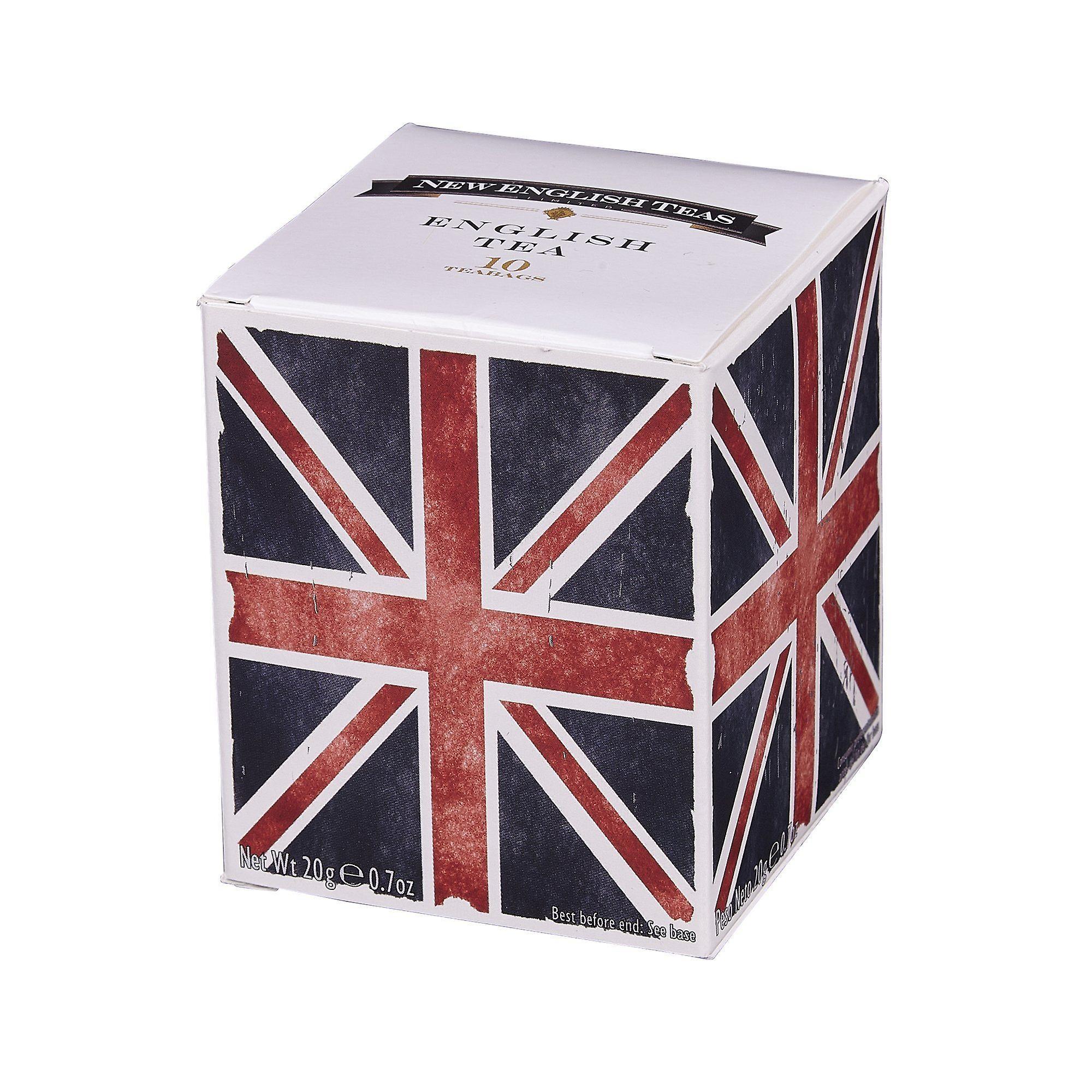 Union jack english breakfast tea 10 teabag carton