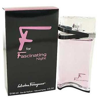 F For Fascinating Night By Salvatore Ferragamo Eau De Parfum Spray 3 Oz (women) V728-481073