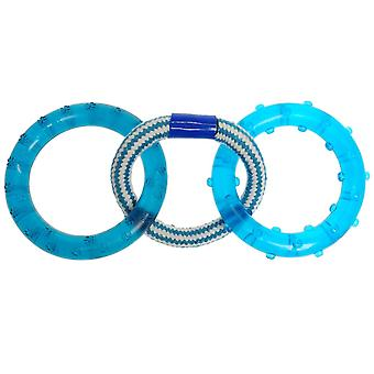 Pet Brands 3 Toy Dog Rings 91 Dog Toy