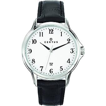 Certus leather 610881 - man watch