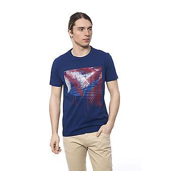 Men's Blue Bagutta Short Sleeve T-shirt