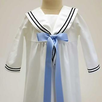 Doping dress Grace Of Sweden, Sailor dress With Light Blue Bow