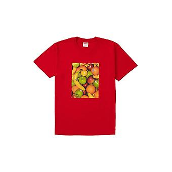 Supreme Fruit Tee Red - Clothing