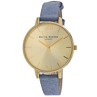 Olivia Burton Women's Gold Dial Watch - OB16BD111