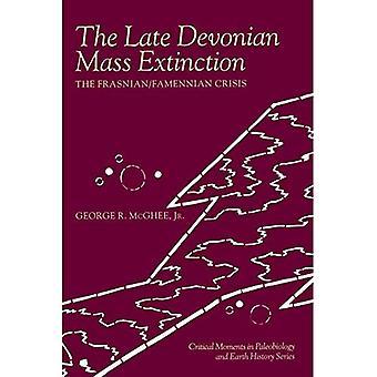 The Late Devonian Mass Extinction: The Frasnian/Famennian Crisis