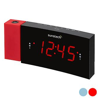 Uhr-Radio Sunstech FRDP3 1,2 LED FM