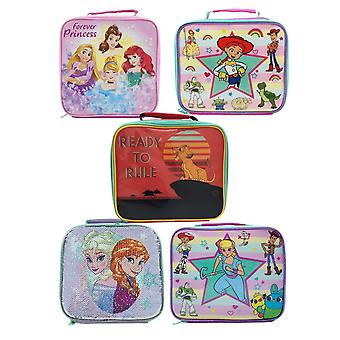 Disney Toy Story Frozen Princess Lion King Girls Lunch Box Container Various