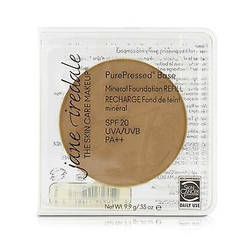 Pure geperste basis minerale foundation refill spf 20 suntan 208712 9.9g/0.35oz