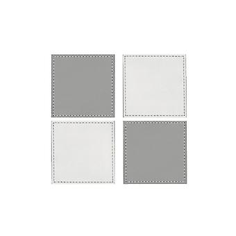 iStyle Reversible White and Grey Coasters