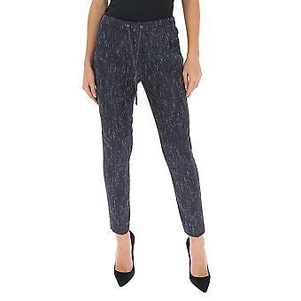 Fabiana Filippi Pad260w876a606vru Women's Blue Wool Pants