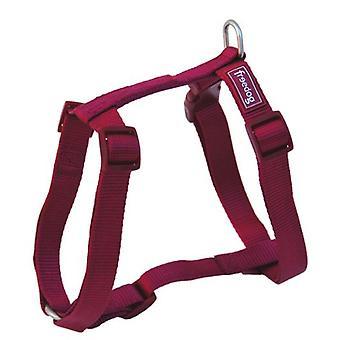 Freedog Harness Nylon Basic Garnet (Dogs , Collars, Leads and Harnesses , Harnesses)