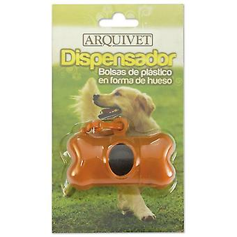 Arquivet Bone Shaped Dispenser (Dogs , Grooming & Wellbeing , Bathing and Waste Disposal)