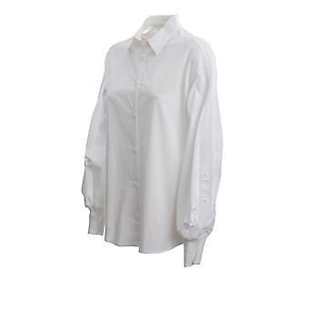 Iceberg G06106501101 Women's White Cotton Shirt