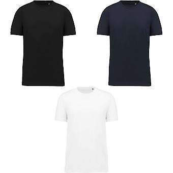 Kariban Mens Cotton Crew Neck T-Shirt