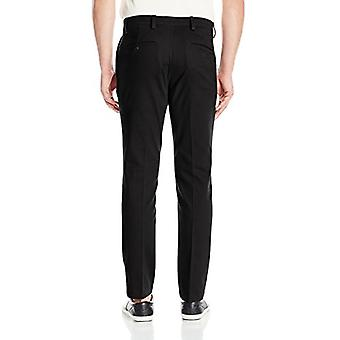 Dockers Men's Slim Tapered Easy Khaki Pants, black (Stretch), 38W x 32L