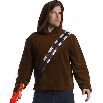 स्टार वार्स Chewbacca कॉस्टयूम हूडि