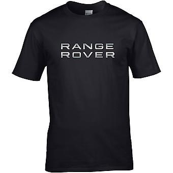Range Rover Metallic - Bilmotor - DTG Tryckt T-shirt