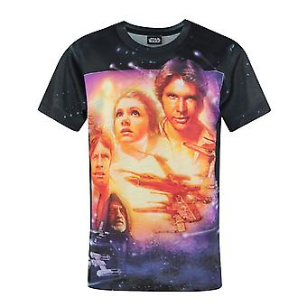 Star Wars A New Hope Sublimation camiseta de manga corta Boy's