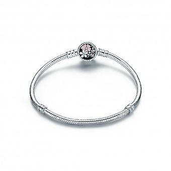 Sterling Silver Charm Bracelet Cherry Blossom - 5309