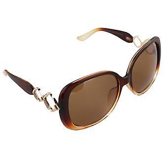Zonnebrillen Dames Polaroid Ovaal - Bruin met gratis brillenkokerS325_3