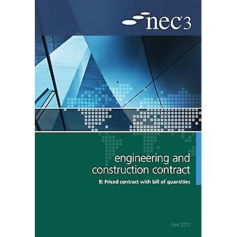 NEC3 Engineering and Construction Contract Option B - Price Contract w