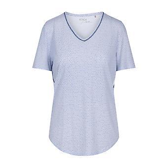 R-sch 1203253-12560 Top de pijama azul mínimo puro