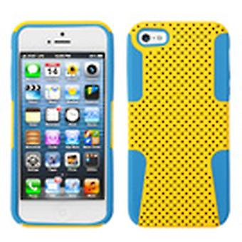 Custodia Asmyna Astronoot Protector per Apple iPhone 5s/5 - Teal giallo/tropicale