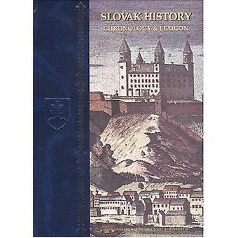 Slovak History - Chronology and Lexicon by Dusan Skvarna - 97808651644