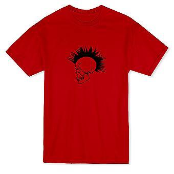 Punk-Skinhead Schädel Herren T-shirt