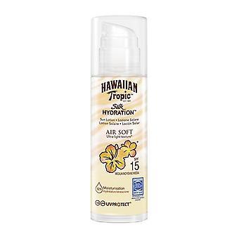 Sun Lotion Silk Air Soft Hawaiian Tropic/Spf15-150 ml