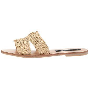 STEVEN by Steve Madden Women's Greece Sandal, Natural Multi, 9 M US