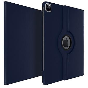 360° rotary standing case, shock absorbing cover Apple iPad Pro 12.9 2020-Blue