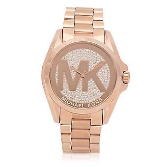 Michael Kors MK6437 Bradshaw Rose Gold Dial Rose Gold Doamnelor Ceas