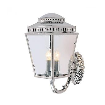 Mansion House Wall Lamp, Polished Nickel