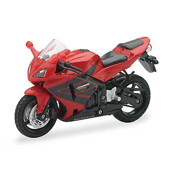 1:18 mierka Die-Cast motocykel-červená honda CBR600RR