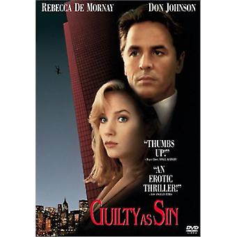 Guilty as Sin [DVD] USA import